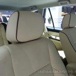 Tata Aria facelift seats