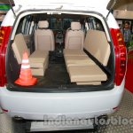 Tata Aria police patrol vehicle cone and benches