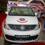 Tata Aria police patrol vehicle front