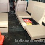 Tata Aria police patrol vehicle seating layout