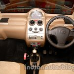 Tata Nano police patrol vehicle dashboard