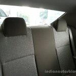Toyota Etios Xclusive rear seats