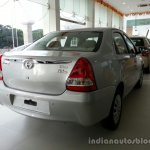 Toyota Etios Xclusive rear