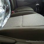 Toyota Etios Xclusive seat fabrics