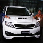Toyota Fortuner updated in Indonesia