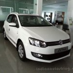 VW Polo Limited Editon front three quarters left
