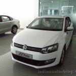 VW Polo Limited Editon front three quarters