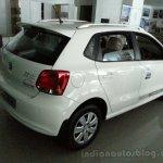 VW Polo Limited Editon rear three quarters