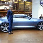 Volvo Concept Coupe Side
