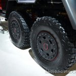 Wheels of the Brabus B63S-700 6x6