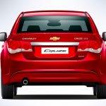 2013 Chevrolet Cruze facelift India rear
