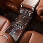 2013 Range Rover Black center console