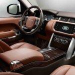 2013 Range Rover Black dashboard