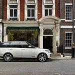 2013 Range Rover Black side view
