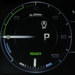 2013 Range Rover Hybrid rev counter