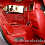 2014 Bentley Flying Spur rear seats