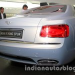 2014 Bentley Flying Spur rear three quarter