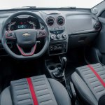 Chevrolet Agile Effect interiors