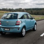 Chevrolet Agile 2014 rear