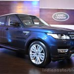 2014 Range Rover Sport India front three quarters