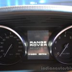 2014 Range Rover Sport India instrument cluster