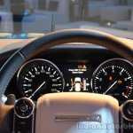 2014 Range Rover Sport India instrument console 2