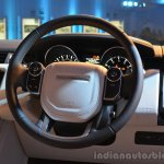 2014 Range Rover Sport India steering wheel 2