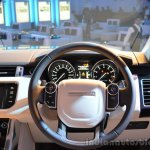 2014 Range Rover Sport India steering wheel 3