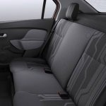 2014 Renault Logan Brazil rear seats