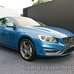 2014 Volvo S60 facelift India front three quarter