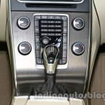 2014 Volvo S60 facelift India gearlever 2