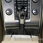 2014 Volvo S60 facelift India gearlever