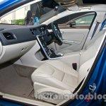 2014 Volvo S60 facelift India passenger seat