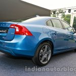 2014 Volvo S60 facelift India rear three quarters