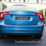 2014 Volvo S60 facelift India rear