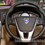 2014 Volvo S60 facelift India steering wheel