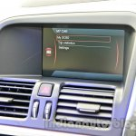 2014 Volvo XC60 facelift India center display