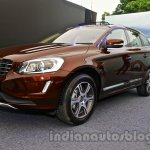 2014 Volvo XC60 facelift India front three quarter