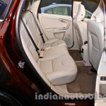 2014 Volvo XC60 facelift India rear seats