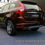 2014 Volvo XC60 facelift India rear three quarter