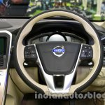 2014 Volvo XC60 facelift India steering wheel