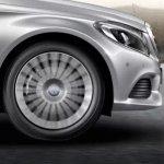 2015 Mercedes C Class fender