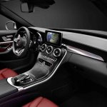 2015 Mercedes C Class interior dashboard