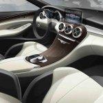 2015 Mercedes C Class interior sketch