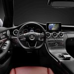 2015 Mercedes C Class interior steering wheel