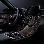 2015 Mercedes C Class interiors