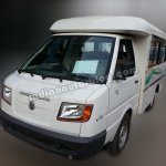 Ashok Leyland Dost Express front three quarters left