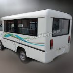 Ashok Leyland Dost Express rear three quarters