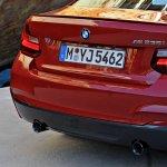 BMW 2 Series M235i taillight