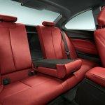 BMW 2 Series rear seats